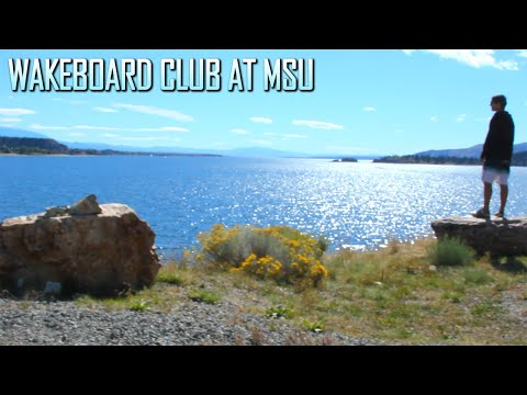 Wakeboard Club at Montana State 2015