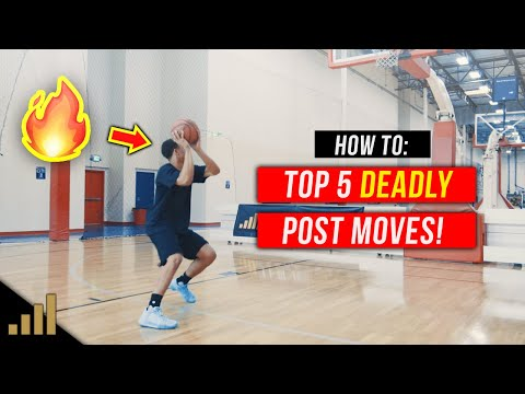 How to: Top 5 Post Moves to DOMINATE the Low Post!