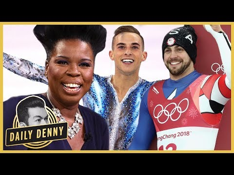 Leslie Jones Deserves a Gold Medal for Her Team USA Winter Olympics Commentary | Daily Denny