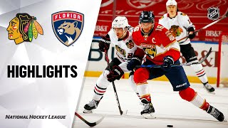 NHL Highlights | Blackhawks @ Panthers 01/19/21