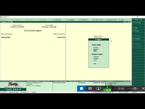 UAE Vat implementation in tally erp9