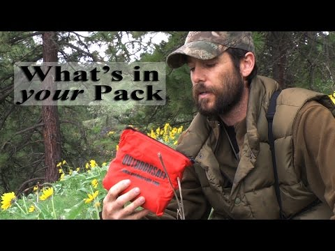 Survival Gear List - Backcountry College