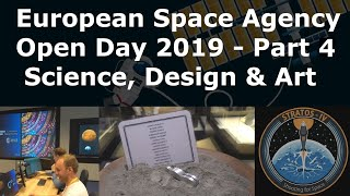 The European Space Agency Open Day At ESTEC - Part 4 - Moon Art.