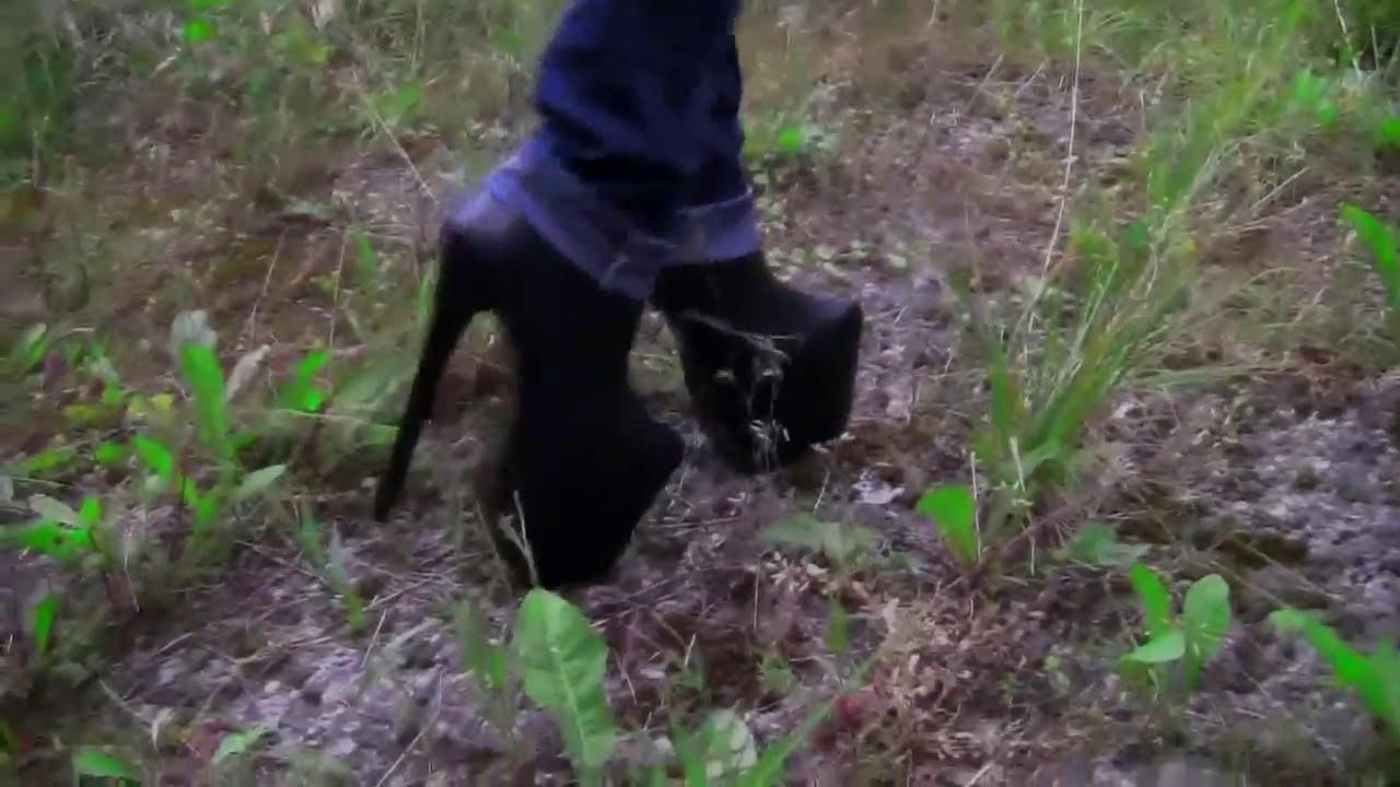 7 Inch My Black Walking High BootsSky Leather In Heel Platform rdBoexCW