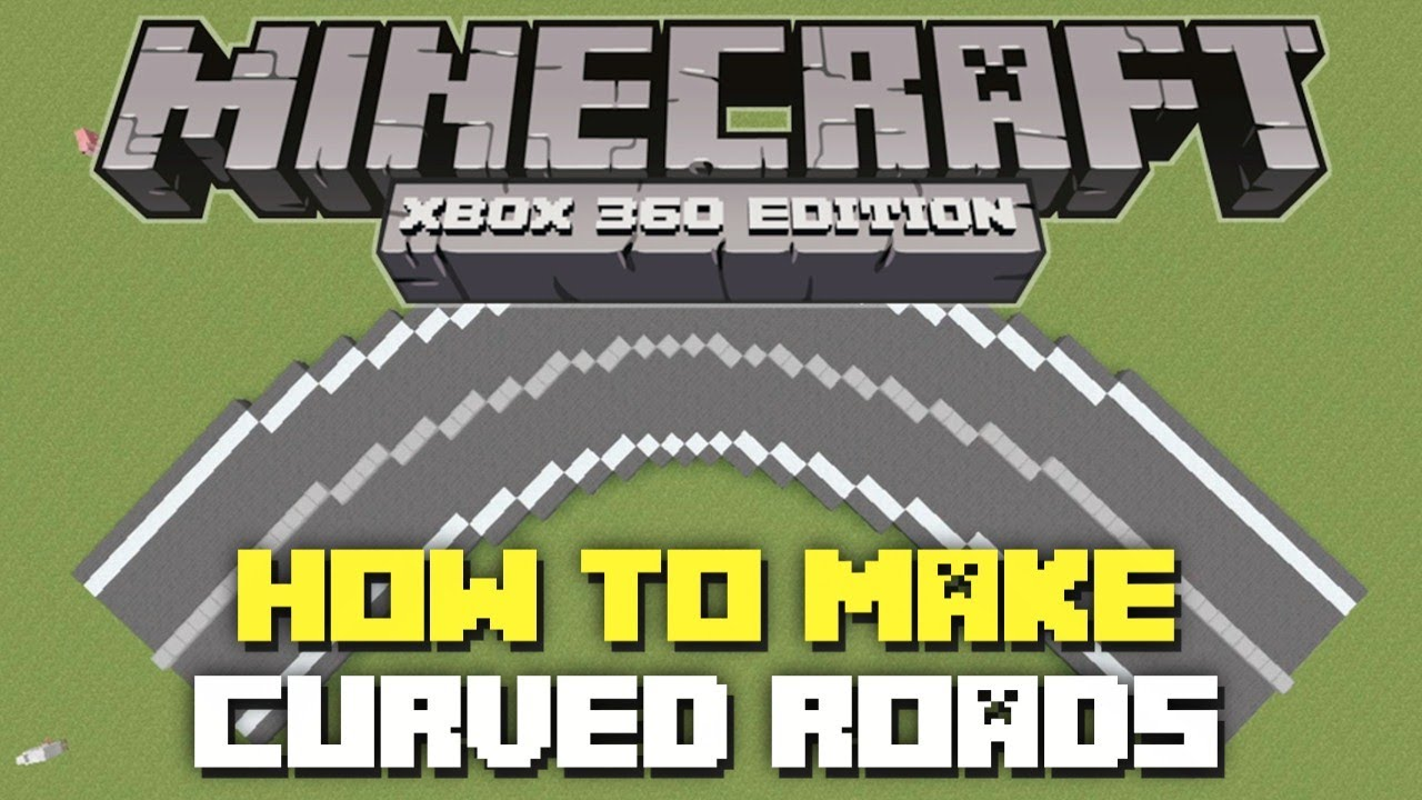 Minecraft How To Build A Road