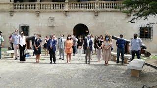 Baleares guarda un minuto de silencio por la víctima de violencia machista en Palma