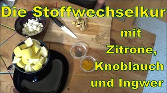 Zitrone und Knoblauch Gewichtsverlust Rezept