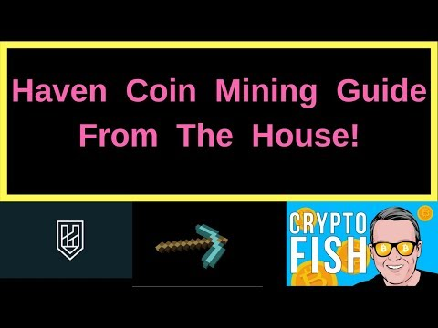 Haven Coin Mining Guide From The House!