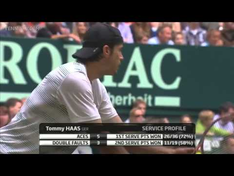 "(HD) Roger Federer vs Tommy Haas ""Halle"" 2012-FINAL  [FULL MATCH]"