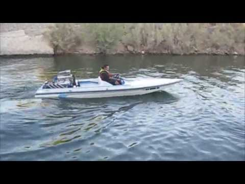 Blown Injected Jet Boat First Launch