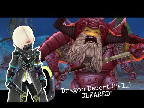 Dragon Nest M - Dragon Desert Stage 4 (HELL) Saint POV