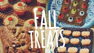 Cute & Easy Delicious Halloween/fall Treats
