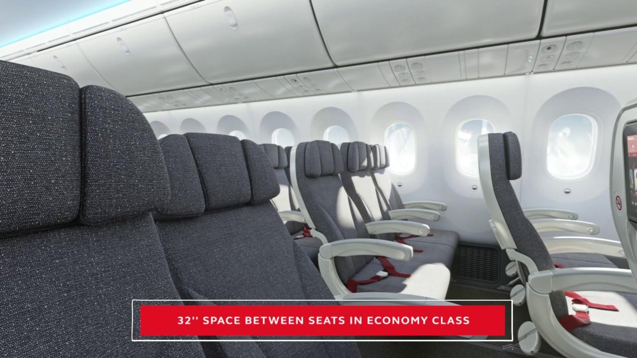 Avianca boeing 787 youtube for Interior 787 avianca