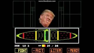 Donald Trump Battle! (Undertale fan battle)