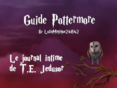 Guide Pottermore // Le journal intime de...