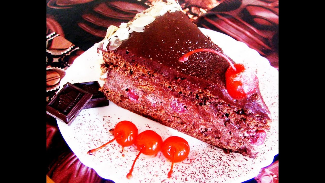 Торт пьяная вишня рецепт с видео пошагово