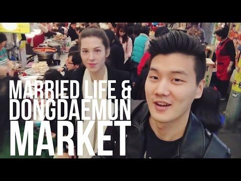 Married Life & Dongdaemun Market Shopping in Seoul 국제결혼 인생 & 동대문 쇼핑 (자막 CC)