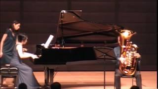 レベデフ チューバとピアノのためのコンチェルト1楽章形式 Lebedjew Konzert fur Tuba und Piano