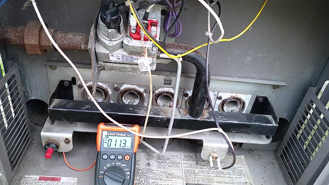 How To Diagnose And Repair Your Hayward H Series Natural Gas Maintenance Byp Switch Wiring Diagram Swimming Pool Heater