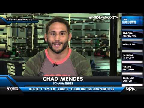 Chad Mendes Talks Jose Aldo and Conor McGregor