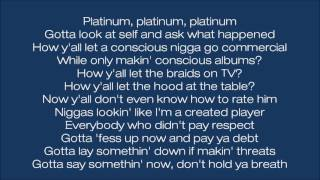 Future - Mask Off Remix ft. Kendrick Lamar (Lyrics)