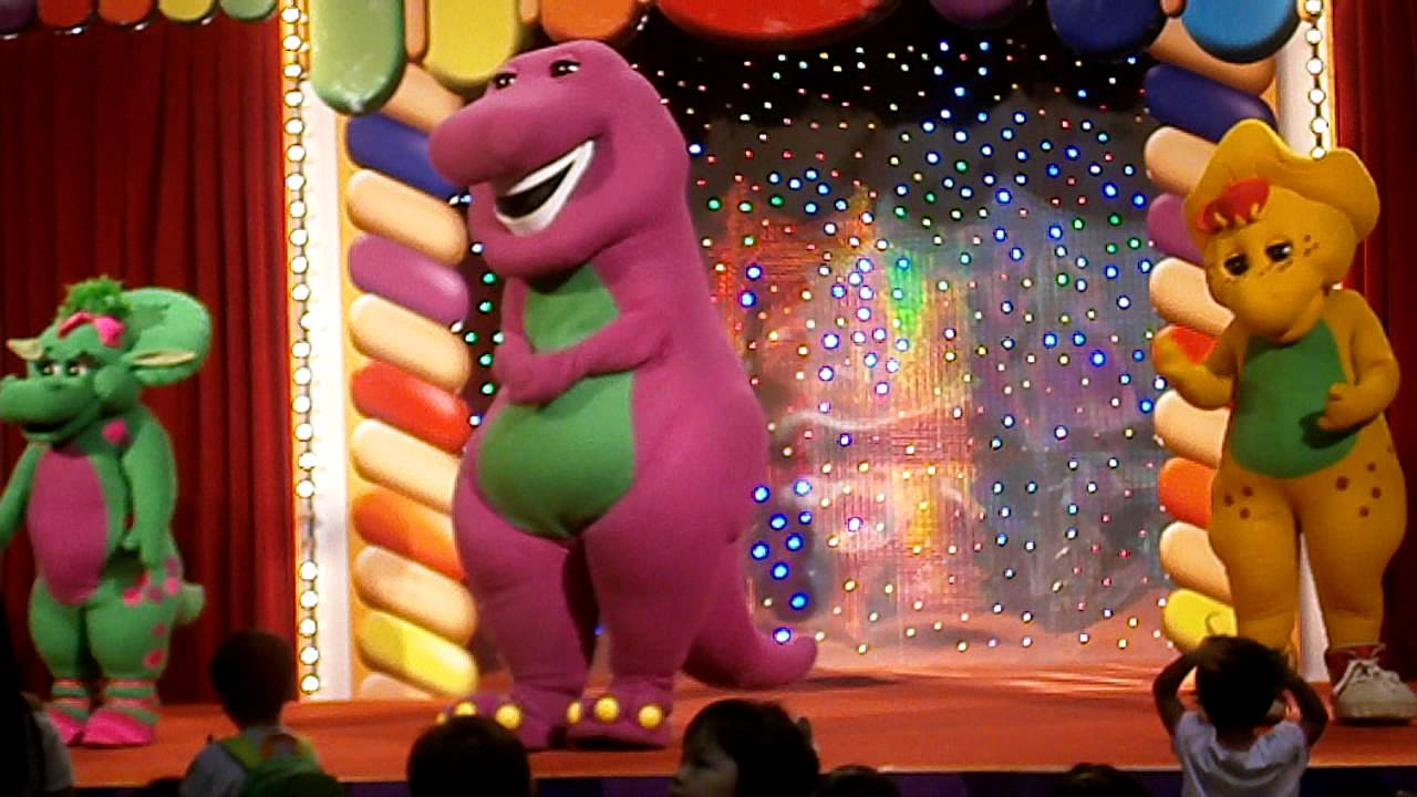 Barney Video At United Square SG.AVI