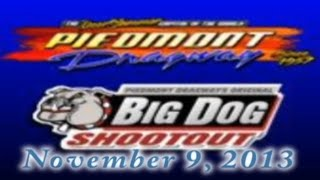 Piedmont Dragway Heads Up Drag Racing Raw Action DVD 11-9-2013