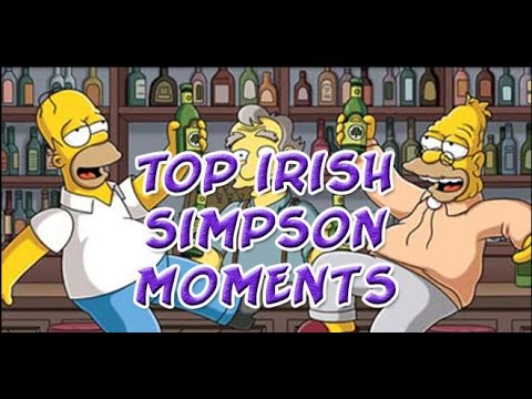 Top Irish moments - Simpsons - Grintage Ireland
