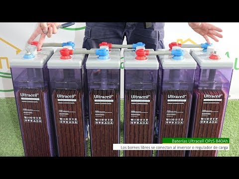 Baterías Estacionarias 840Ah