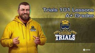 Trials Rising - Trials 101 Lessons - A+ Grades