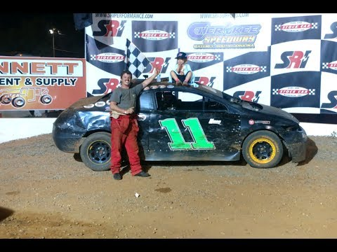 05-28-17Jonathan Sarratt Wins at Cherokee Speedway (FWD, Extreme-4)
