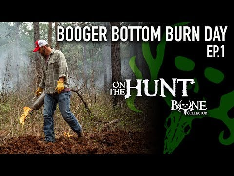 Attract Turkeys LEGALLY! Burn Day Part 1 | Scouting & Burning