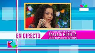 Comunicación con la Vicepresidenta Compañera Rosario Murillo, 18 de agosto de 2019