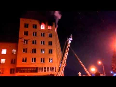 Пожар на Красногвардейской площади