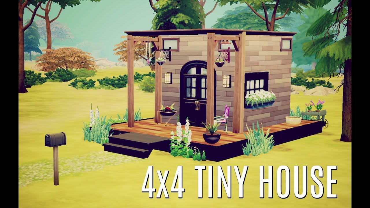 the sims 4 is fostering a massive community of tiny house builders