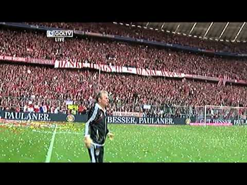 Bayern Munich Celebrations 2013