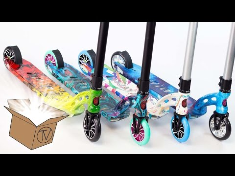 MGP VX7 Extreme Completes - Unboxing and Overview │ The Vault Pro Scooters