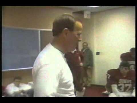 Oklahoma Sooner Locker Room (various clips of Barry Switzer & Bob Stoops)