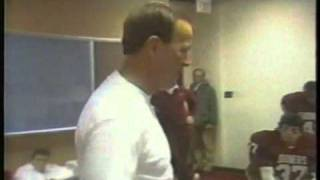 Oklahoma Sooner Locker Room (various clips of Barry Switzer & Bob Stoops)