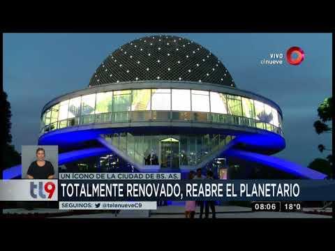 Totalmente renovado, reabre el Planetario