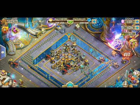 Castle Clash Cosmic Temple (24hr)