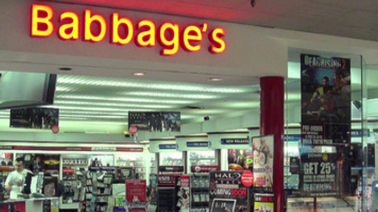 i love Babbage's tha...