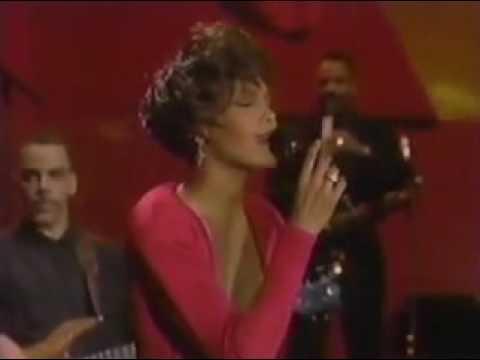 Whitney Houston  All The Man That I Need  at Jay Leno 1990