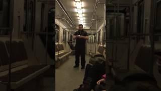 В метро Москвы фокусы ##$