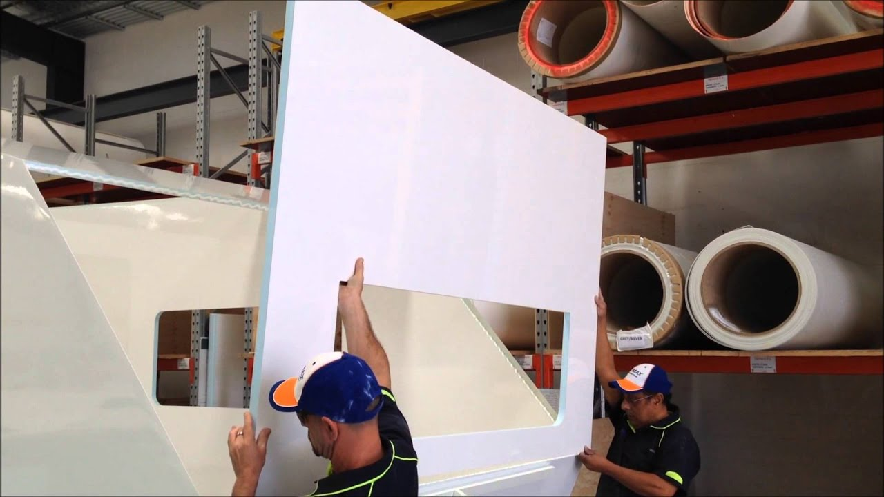 Upper front wall & roof panel assembly with Terostat MS939 by Henkel