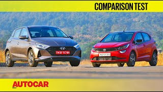 Hyundai i20 vs Tata Altroz - Long distance relationship | Comparison | Autocar India