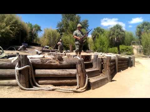 M1 Garand demo (Nimitz Museum living history)