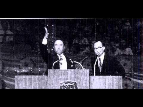 Sun Myung Moon Speech at Madison Square Garden 9/18/1974