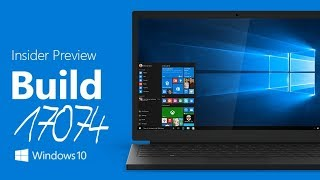 Windows 10 Insider Build 17074 Review (English)