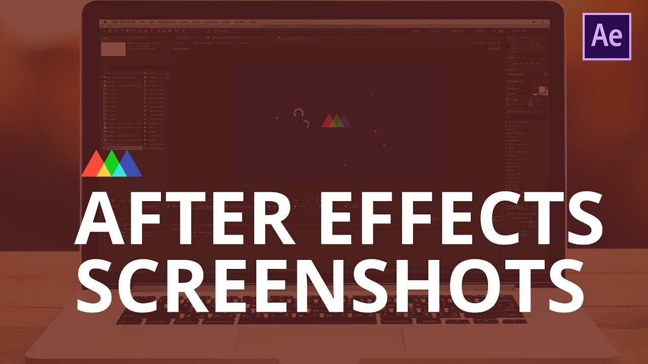 How to Save a Screenshot in After Effects